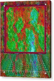 21st Century Middle East Ghost Lands In The Heads Of Humans And Soldiers Exposed To The Madness Acrylic Print
