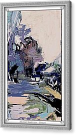 Abstract Landscape Acrylic Print by Pemaro