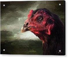 22. Game Hen Acrylic Print