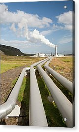 Geothermal Power Station Acrylic Print