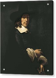 Rembrandt, Harmenszoon Van Rijn, Called Acrylic Print