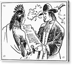 William Penn (1644-1718) Acrylic Print