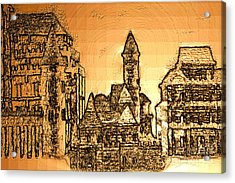 221220131355 Acrylic Print by Oleg Trifonov