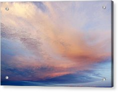 Clouds Acrylic Print by Les Cunliffe
