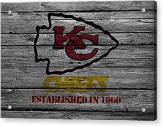 Kansas City Chiefs Acrylic Print