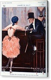 La Vie Parisienne  1920 1920s France Acrylic Print