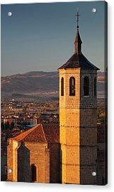 Spain, Castilla Y Leon Region, Avila Acrylic Print by Walter Bibikow