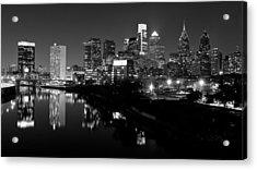 23 Th Street Bridge Philadelphia Acrylic Print