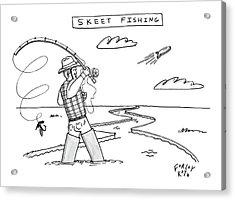 New Yorker March 10th, 2008 Acrylic Print by Farley Katz