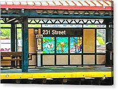 231 Street Subway Acrylic Print