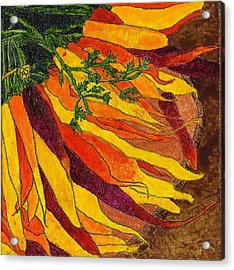 24 Carrots Gold Acrylic Print by Phil Strang