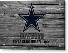 Dallas Cowboys Acrylic Print