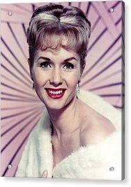 Debbie Reynolds Acrylic Print by Silver Screen