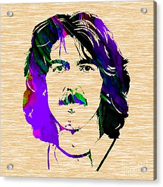 George Harrison Collection Acrylic Print by Marvin Blaine