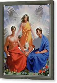 24. The Trinity / From The Passion Of Christ - A Gay Vision Acrylic Print by Douglas Blanchard