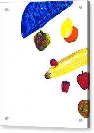 248 Spilled Life With Fruit Acrylic Print by Aaron Aadamson
