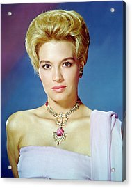 Angie Dickinson Acrylic Print by Silver Screen