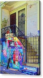 25 Balmy Alley San Francisco Acrylic Print