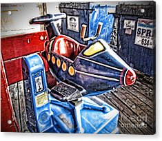 25 Cents Acrylic Print by Christina Perry