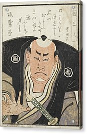 Kabuki Actor Acrylic Print by British Library