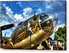 25 Missions Acrylic Print by Mel Steinhauer