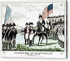 Yorktown Surrender, 1781 Acrylic Print