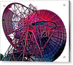 26 East Antenna Abstract 4 Acrylic Print