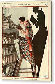 La Vie Parisienne 1924 1920s France Acrylic Print