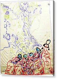 Wise Virgins Acrylic Print by Gloria Ssali