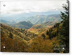 2676 Blue Ridge Parkway Acrylic Print by Stephen Parker