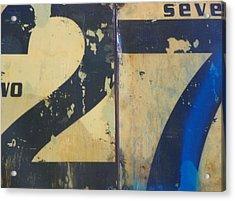 27 Acrylic Print by Bernie Smolnik