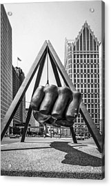 Detroit Acrylic Print by Chris Smith