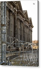 Michigan Central Station Acrylic Print by Gary Marx