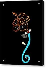 27 Mundakarama Ganesh Acrylic Print by Kruti Shah