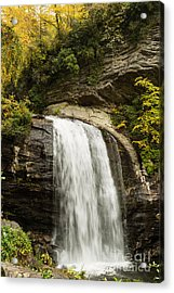 2718 Looking Glass Falls Acrylic Print by Stephen Parker