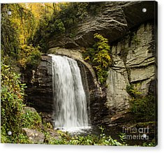 2719 Looking Glass Falls Acrylic Print by Stephen Parker