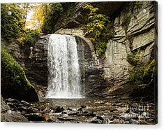 2722 Looking Glass Falls Acrylic Print by Stephen Parker