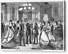 Andrew Johnson (1808-1875) Acrylic Print by Granger