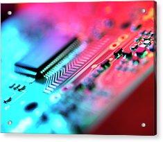 Circuit Board Acrylic Print