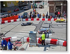 Fuel-efficient Vehicle Competition Acrylic Print by Jim West
