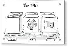 You Wish Acrylic Print by Kim Warp