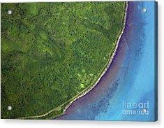 Iceland Aerial Photo Acrylic Print
