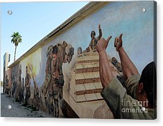 29 Palms Mural 4 Acrylic Print by Bob Christopher
