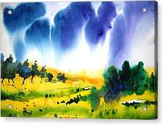 Sold Acrylic Print by Sanjay Punekar