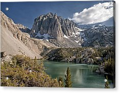 2nd Lake And Temple Crag Acrylic Print