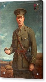 2nd Lieutenant Alfred Victor Smith, Vc Acrylic Print by Isaac Cooke