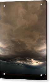 Acrylic Print featuring the photograph 052913 - Severe Storms Over South Central Nebraska by NebraskaSC