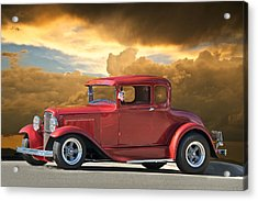 1931 Ford Model A Coupe Acrylic Print by Dave Koontz