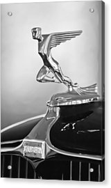 1932 Auburn 12-160 Speedster Hood Ornament Acrylic Print by Jill Reger