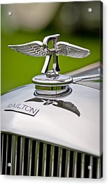 1937 Railton Rippon Brothers Special Limousine Hood Ornament Acrylic Print